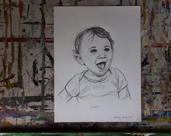 Custom Portrait of Your Baby