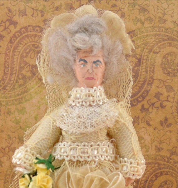 Art Doll Mrs. Haversham  Charles Dickens Great Expectations Literary Character