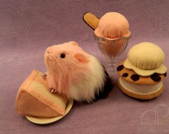 Little Neopolitan Guinea Pig Plushie - Poli