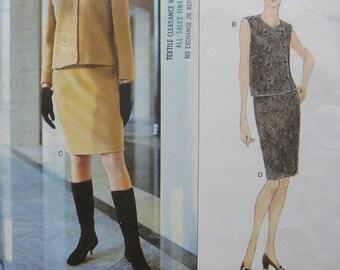 Vogue American Designer Calvin Klein Pattern 1824