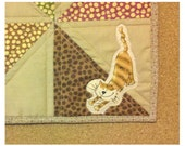 Four Cat Quilt or Quilted Table Topper