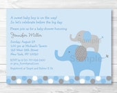 Cute Elephant Baby Shower...