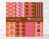 Pink Pumpkin Candy Corn H...