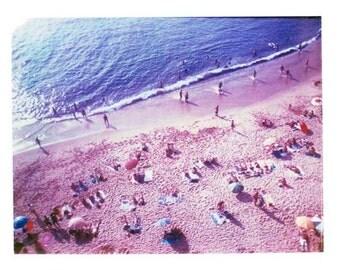 Photography Polaroid Portugal Beach Surf Vintage Art 11x14 Print