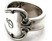 Spoon Ring Signature With P Monogram Size 3 4 5 6 7 8 9 10 11 12 13 14 15