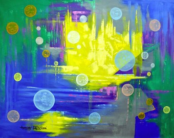 Angels In My Bedroom Orbs Abstract Anthony Falbo