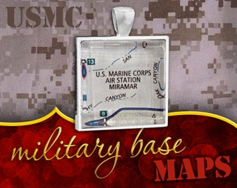 U.S. Marine Corps Pendant: Air Station Miramar