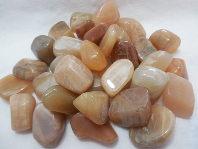 Peach Moonstone Healing Crystals Healing Stone Soothing Chakra