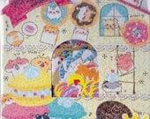 Kawaii Crux Hamu Hamu Town Sticker Sack