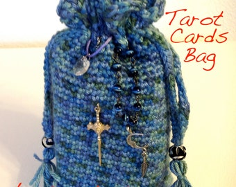 Immediate Download for Your Crocheted Tarot Card Bag
