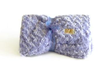 Luxurious Baby Blanket Lavender Rose Print, baby minky, Purple baby blanket, newborn baby blanket, baby shower girl gift, baby girl blanket