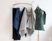 linen wardrope four pieces  handmade to measure with one obi gift  petite to plus size by annyschoo