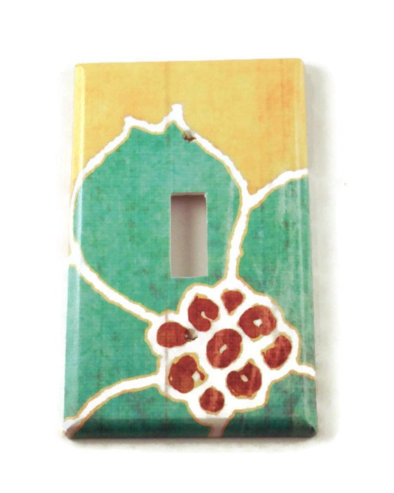Switch Plate  Wall Decor  Light Switch Cover in Sweet Life   (101S)
