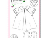 Hannah, a Vintage Inspiration PDF Pattern Sz 9mo to 2T and NEW Size 3