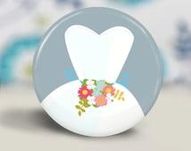 Wedding Dress Pocket Mirror, Make-up Mirror - cute party favor gift