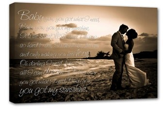 Reserved  RUSH ANNSOW  APRIL 28 del       Wedding or Cotton Anniversary Photo art  24X36 inch