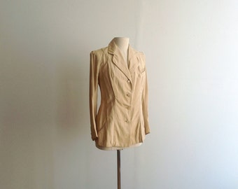 Antique Edwardian Silk Jacket.