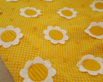 Vintage Sunny Flower Cotton
