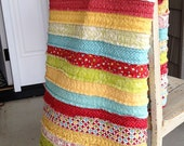 Jelly Roll Quilt- Download Pattern