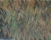 Hand Marbled Bamboo/Rayon Art Cloth