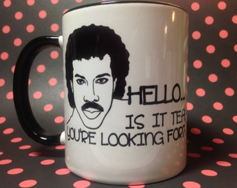 Hello is it tea you're looking for tea or coffee mug