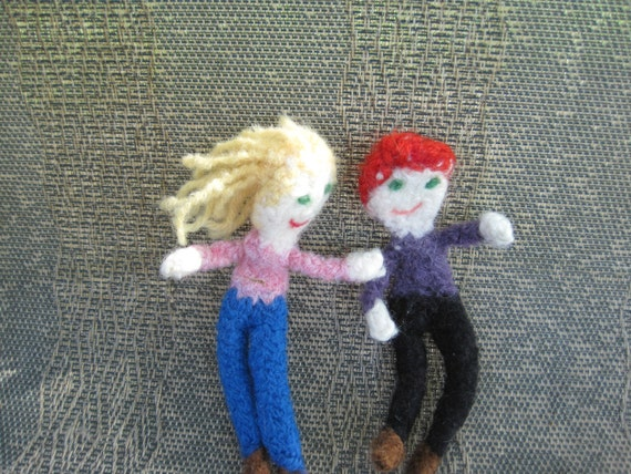 Fun Family of Felted Dolls