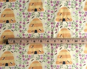 Beehive Light Cotton Fabric