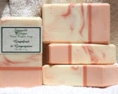Grapefruit and Gingergrass Handmade Artisan Soap