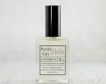 Helix Wylde Ivy Guy Men's Cologne 1oz with notes of Ozone, Sandalwood, Musk, Wood