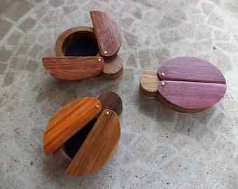 Ladybug wooden jewelry box