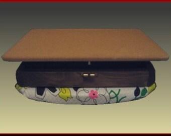 Lap Desk, Vintage Floral