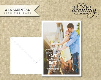 NEW 2014 Collection - Ornamental Save the Date Sample