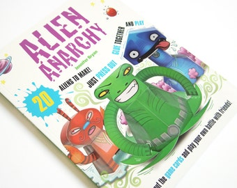 Paper Toy Aliens - Alien Anarchy by Jennifer Bryan