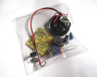 DIY Kit: Portable MP3 Amp w/ Speaker & 10X Gain