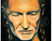 NEW Willie Nelson - Lithograph Print
