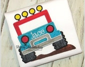 Off Road Mud Runner Jeep Shirt or Bodysuit for Boys or Girls - Personalization Available