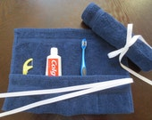 Travel Toothbrush Holder - Dark Blue