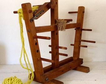 Vintage Industrial  Modern Inkle Loom