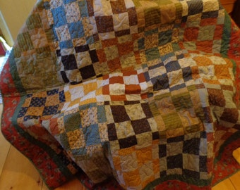 Old Fashioned looking couch throw.