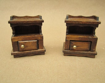 Sale!   Vintage Dollhouse End Tables-1950's toys, Vintage Dollhouse, Vintage toy
