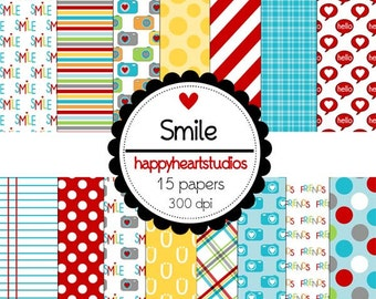 Digital Scrapbooking Smile