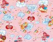 Twin little stars and Care Bears Fabric