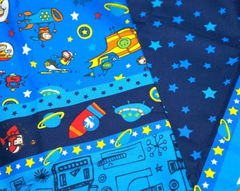 Japanese Fabric outspace theme Half meter nc34