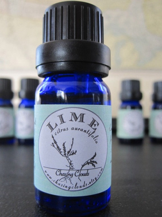 Lime Essential Oil - Organic - Aromatherapy - Essential Oil