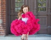 Dreamspun's Sweetheart Pettiskirt - Raspberry Pink or Fuchsia