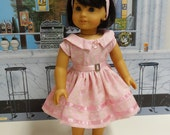 Beautiful Blooms - vintage style dress for American Girl doll