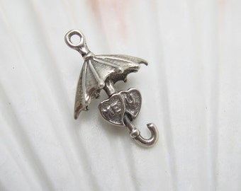 Vintage Sterling Charm Umbrella Me U C5896