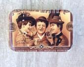 Tea Ad pill box, treasure box, jewellery box
