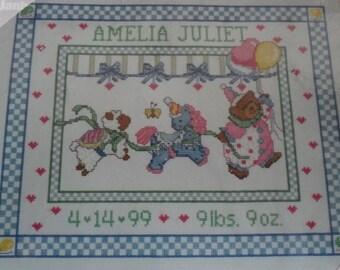 Counted Cross Stitch Stitchery Embroidery Stitch Kit New