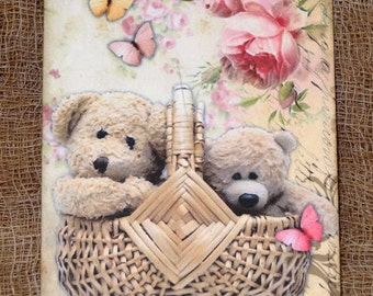 Fuzzy Bears In A Basket Tags #36